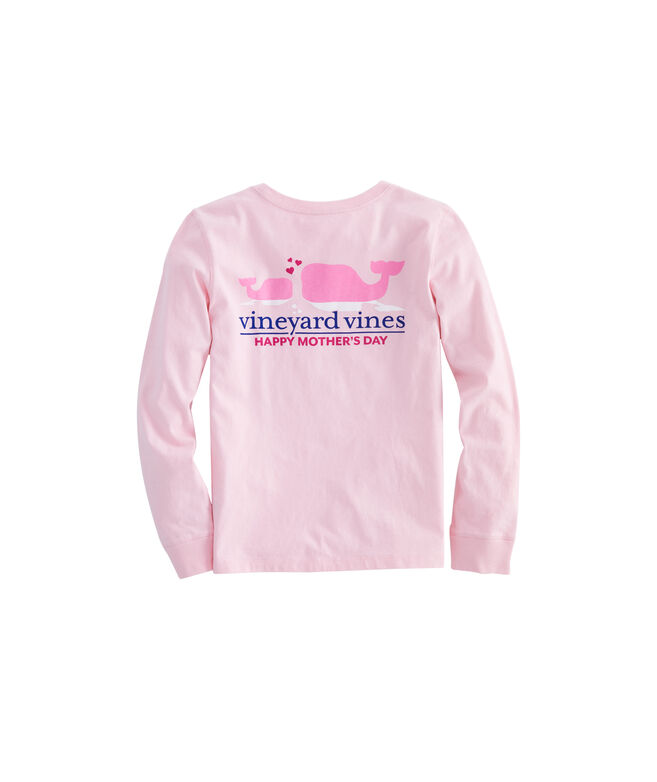 Girls Long-Sleeve Mothers Day Pocket Tee