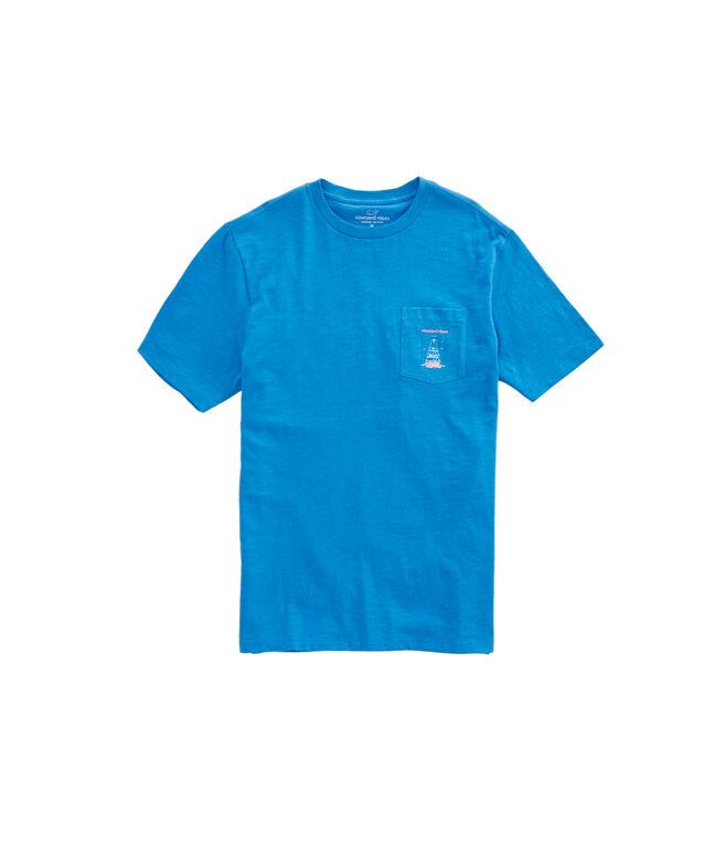 Sportfisher Back Pocket T-Shirt