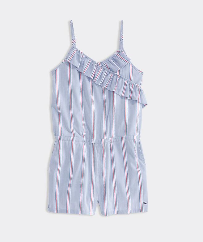 Girls' Nicholls Stripe Romper