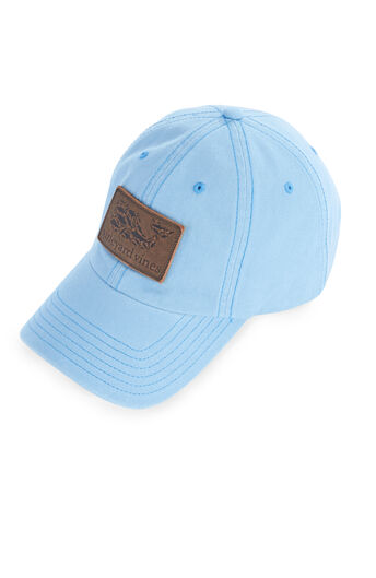 d898fbe5997 Leather Whale Fill Logo Patch Twill Baseball Hat