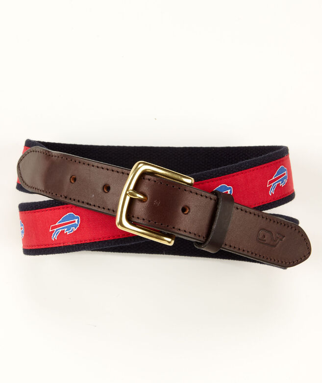 Buffalo Bills Canvas Club Belt