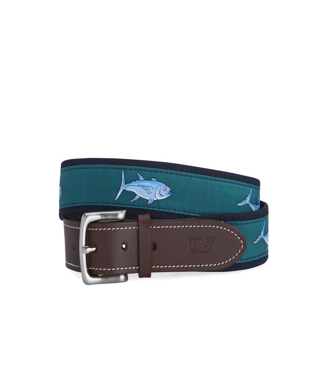 Tuna Icon Canvas Club Belt