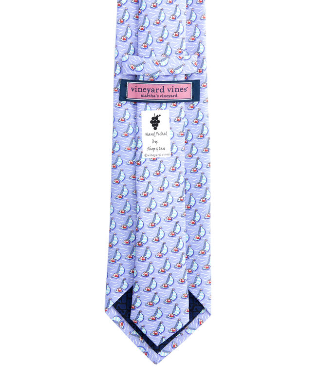 Sailboat Printed Tie