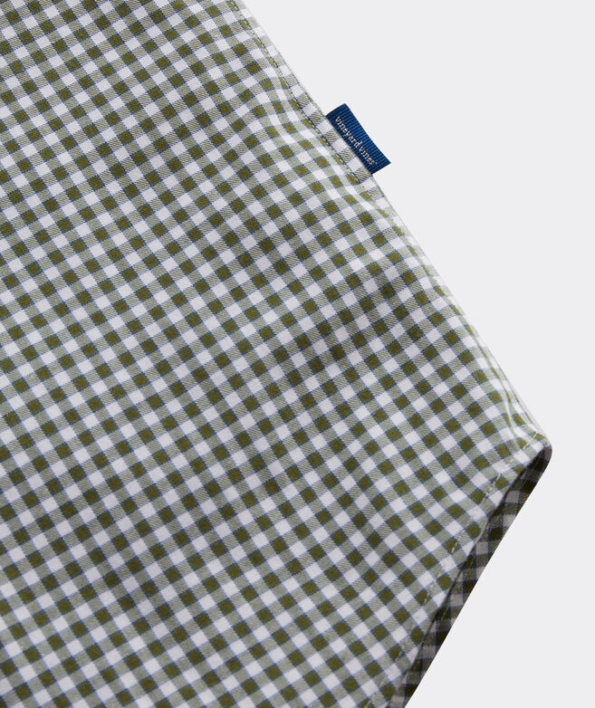 Cotton Cashmere Check Shirt