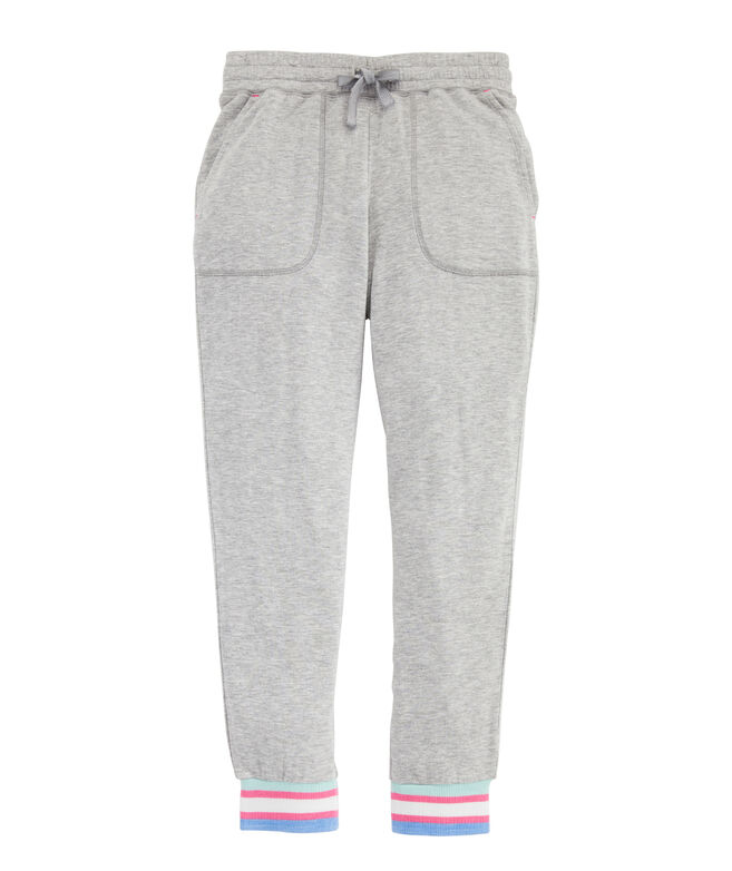 Girls' Dreamcloth Stripe Cuff Joggers