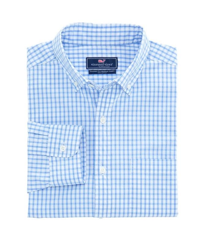 Classic Fit Graph Check Murray Shirt