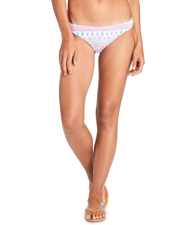 Allover Coral Reversible Classic Bottom