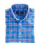 Chandler Pond Plaid Flannel Whale Shirt