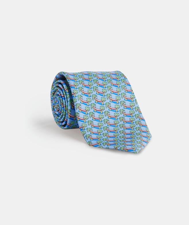 Hammocking Printed Tie
