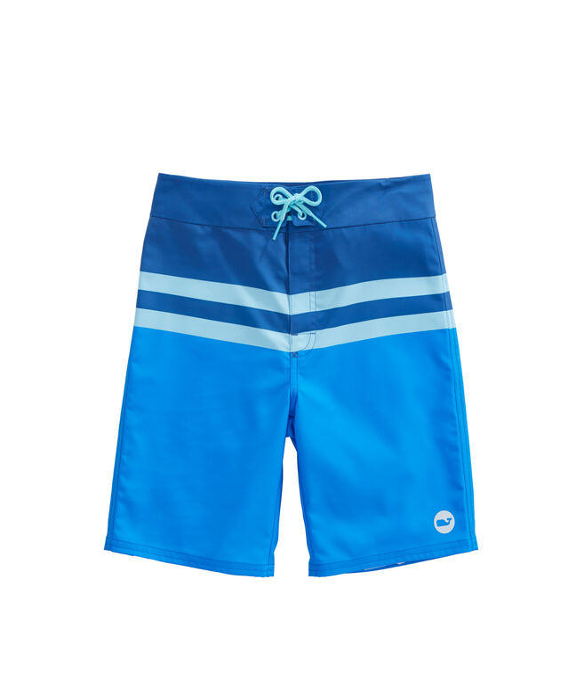 Boys Bay Ridge Stripe Board Shorts