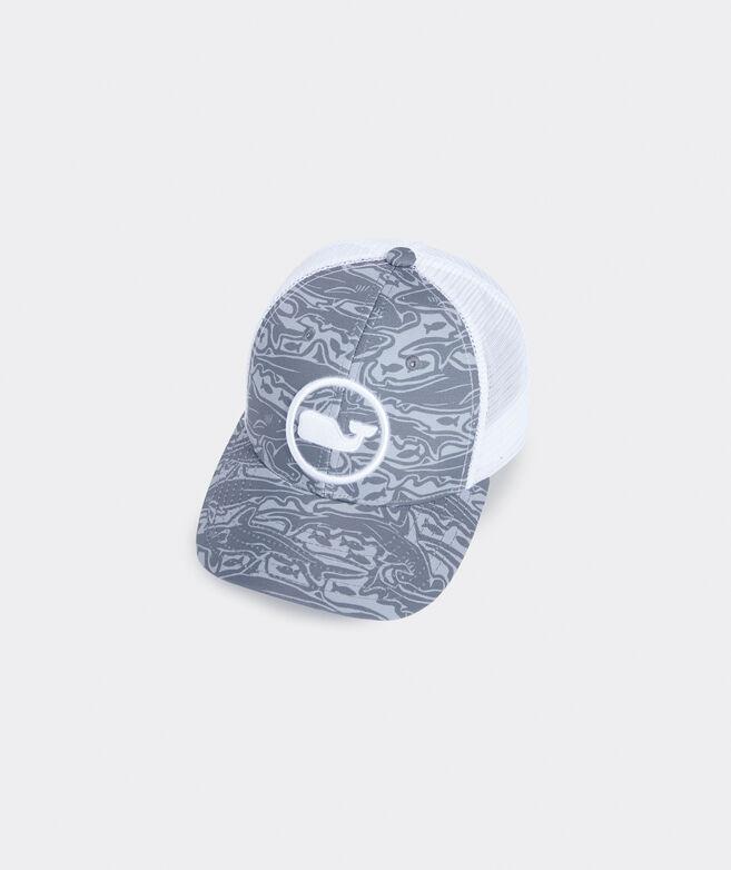 Boys' Shark Island Whale Dot Trucker Hat