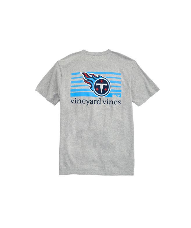 Tennessee Titans Block Stripe T-Shirt
