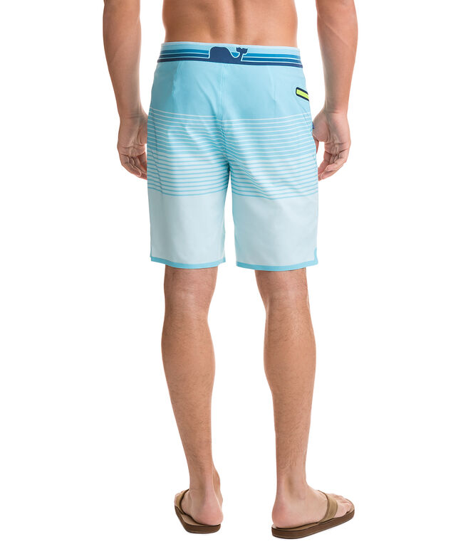 Sculplin Stripe Tech Board Shorts