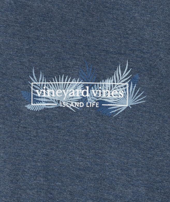 Heathered Island Life Logo Box Short-Sleeve Tee