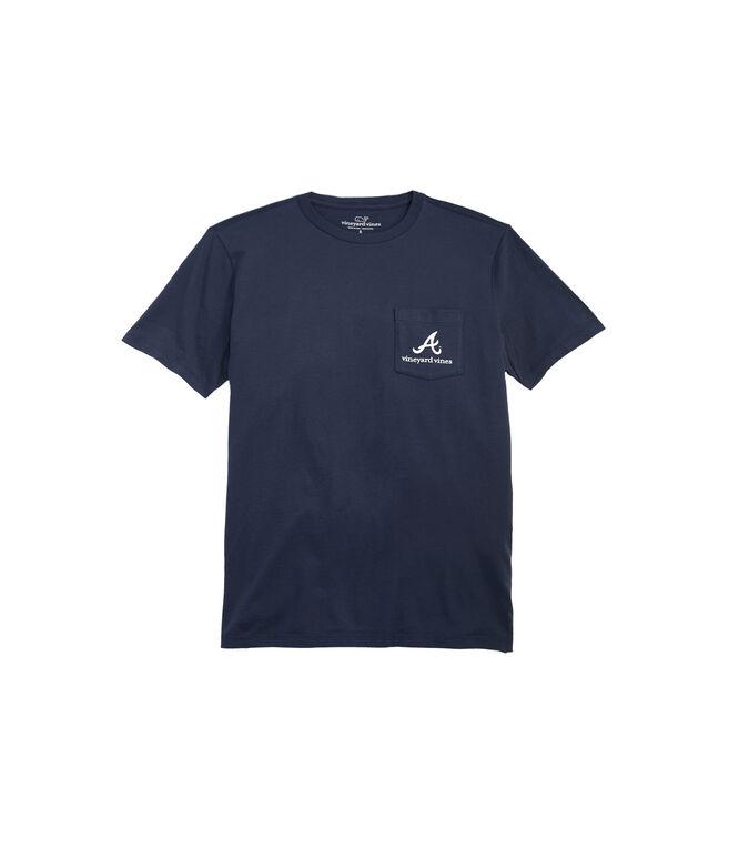 Atlanta Braves  Circle Logo T-Shirt