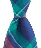 Snowflake Plaid Shirting Tie