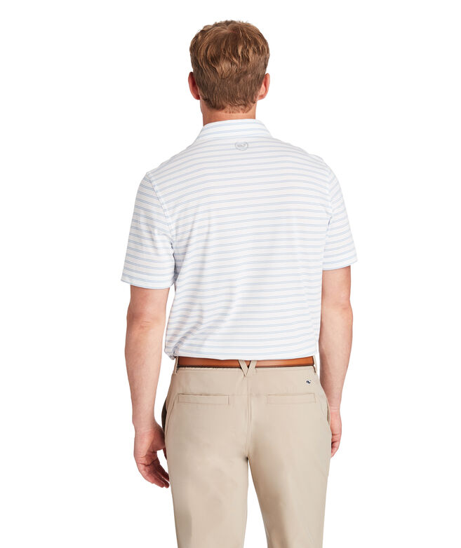 Carmel Double Stripe Polo