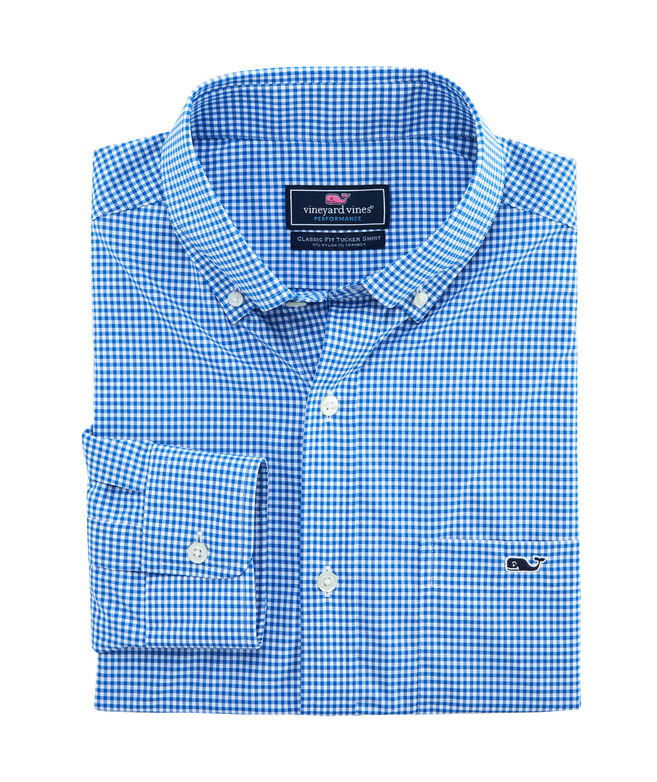 Classic Lisbon On-The-Go Performance Tucker Shirt