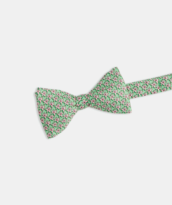 Kentucky Derby Lilies Printed Bow Tie
