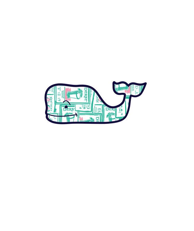 Tickets Print Whale Sticker
