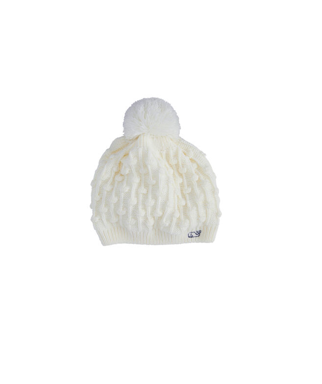 Girls Bobble Hat and Scarf Set