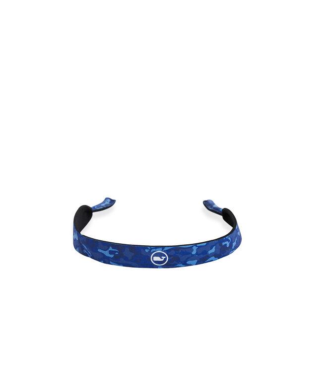 Camo Whale Dot Sunglasses Strap