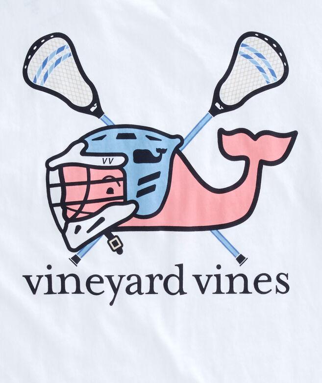 Shop short sleeve lax helmet whale pocket t shirt at for Whale emblem on shirt