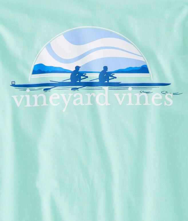 Long-Sleeve Rowing Pocket T-Shirt