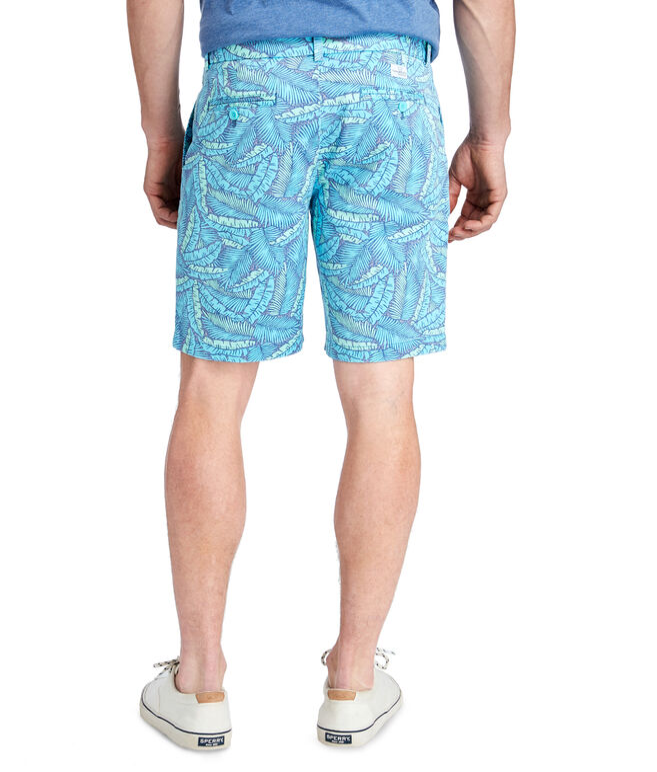 9 Inch Island Palms Breaker Shorts