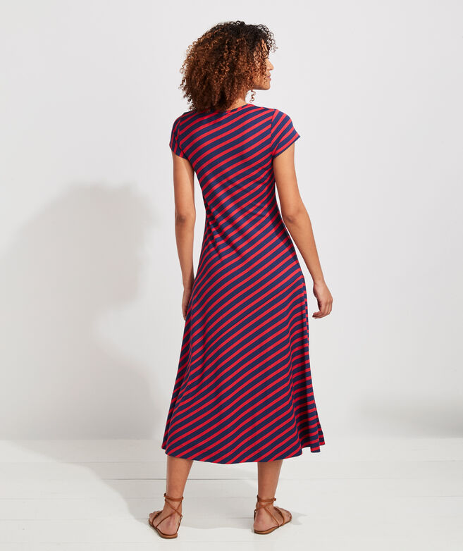 Sunshade Stripe Weekend Dress