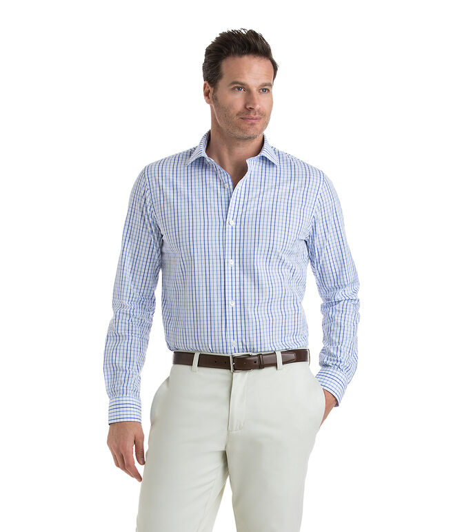 Conch Bay Check Performance Cooper Shirt