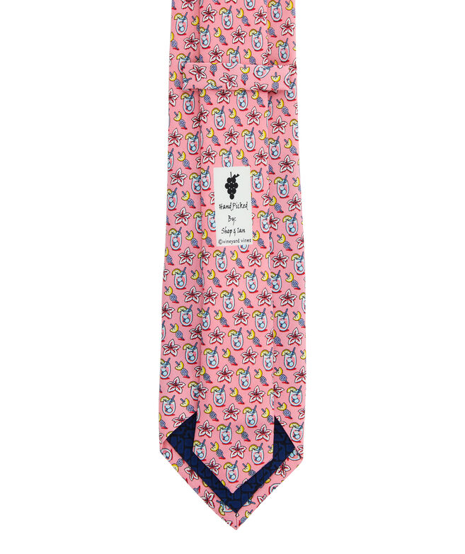 Kentucky Derby Lily Cocktail Printed Tie