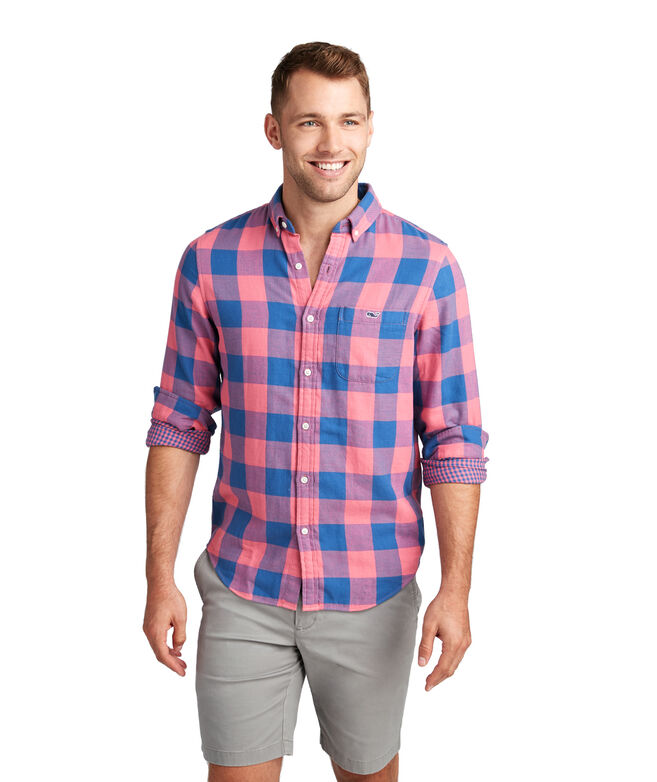 Swan Neck Slim Tucker Shirt