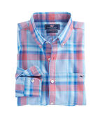 Martin Point Plaid Slim Tucker Shirt