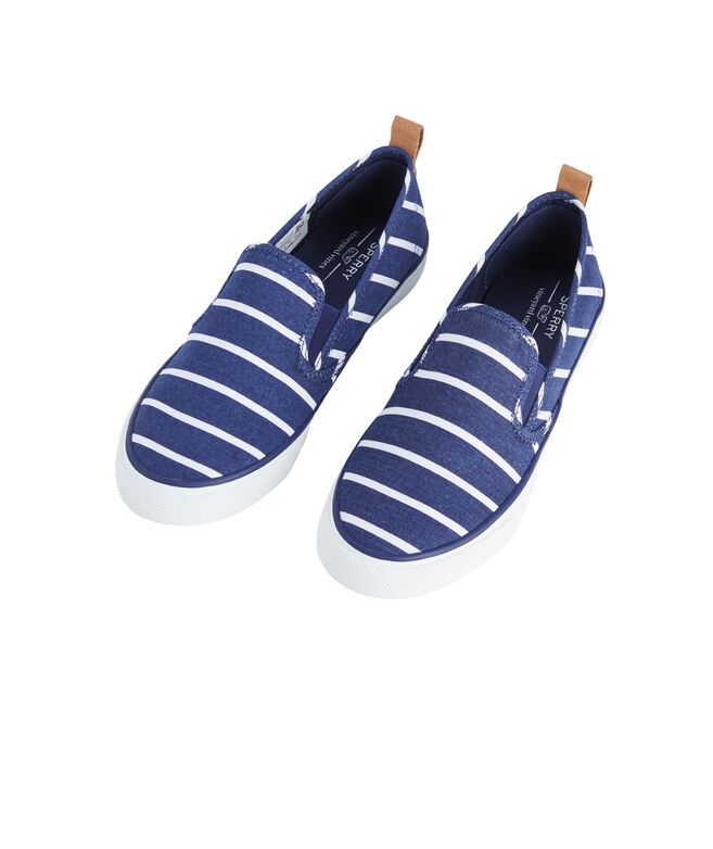 Womens Sperry x vineyard vines Stripe Seaside Slides