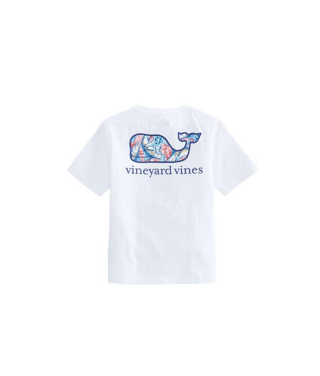 Boys Marlin & Starfish Whale Fill T-Shirt