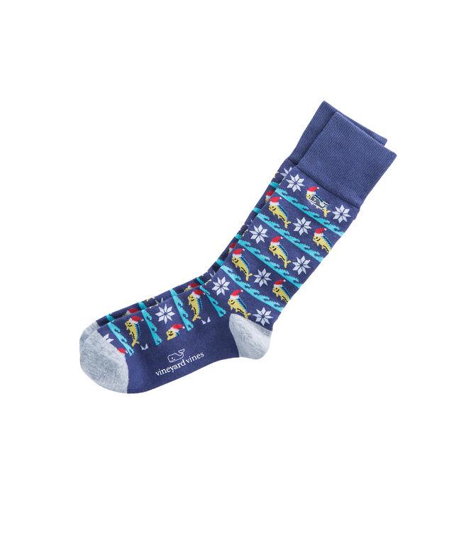 Mahi Christmas Socks