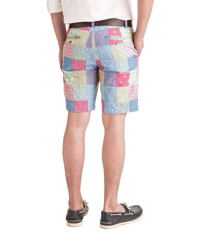 9 Inch Patchwork Breaker Shorts