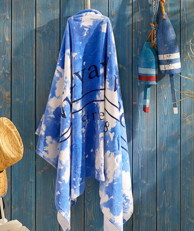 Tie-Dye Terry Towel