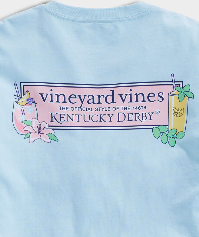 Kentucky Derby Julep & Lily Long-Sleeve Tee
