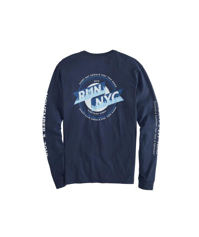Run NYC Marathon Long-Sleeve T-Shirt