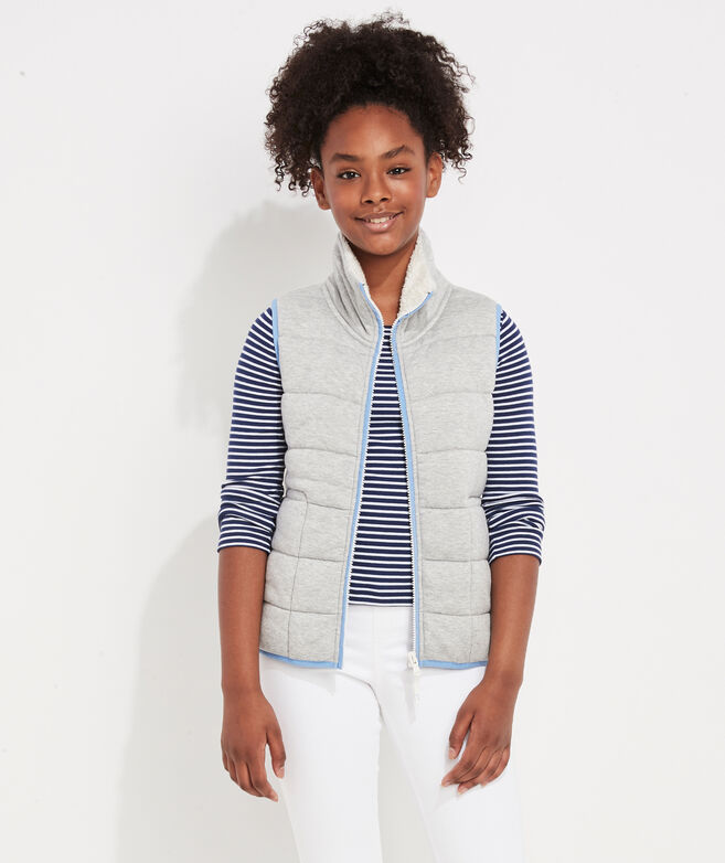 Girls' Quilted Dreamcloth Vest
