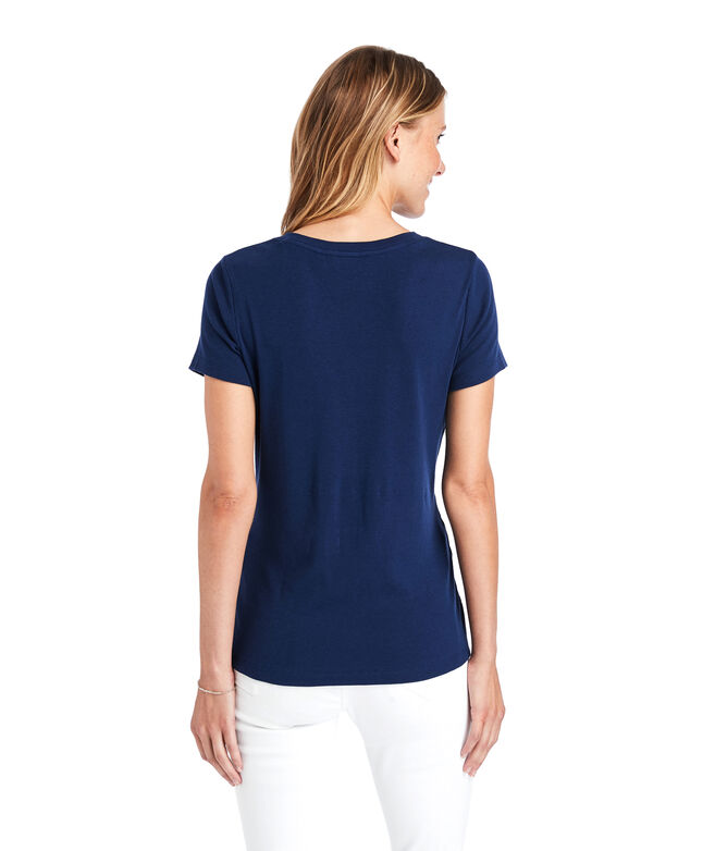 Simple V-Neck Tee