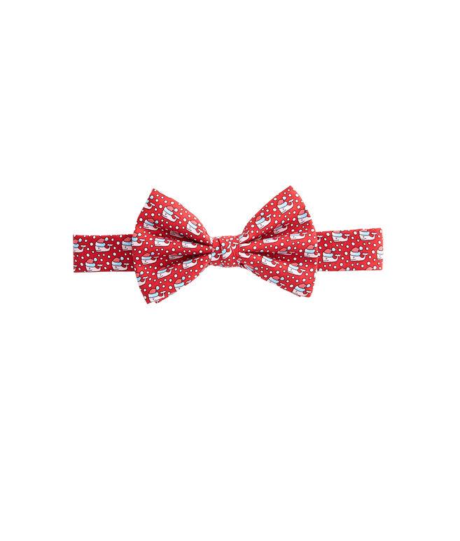 Boys Santa Whale Bow Tie