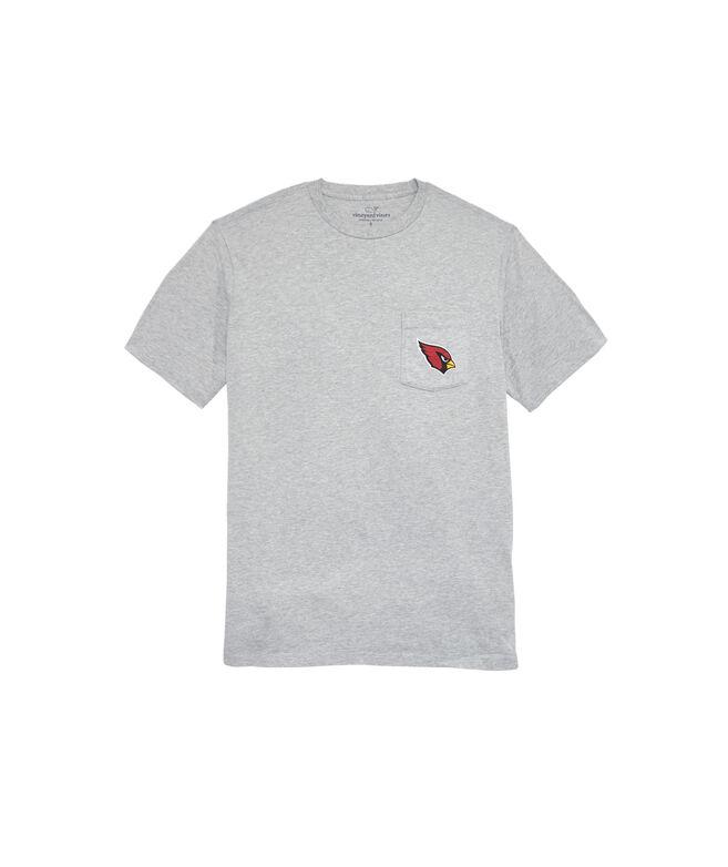 Arizona CardinalsShort-Sleeve Block Stripe T-Shirt
