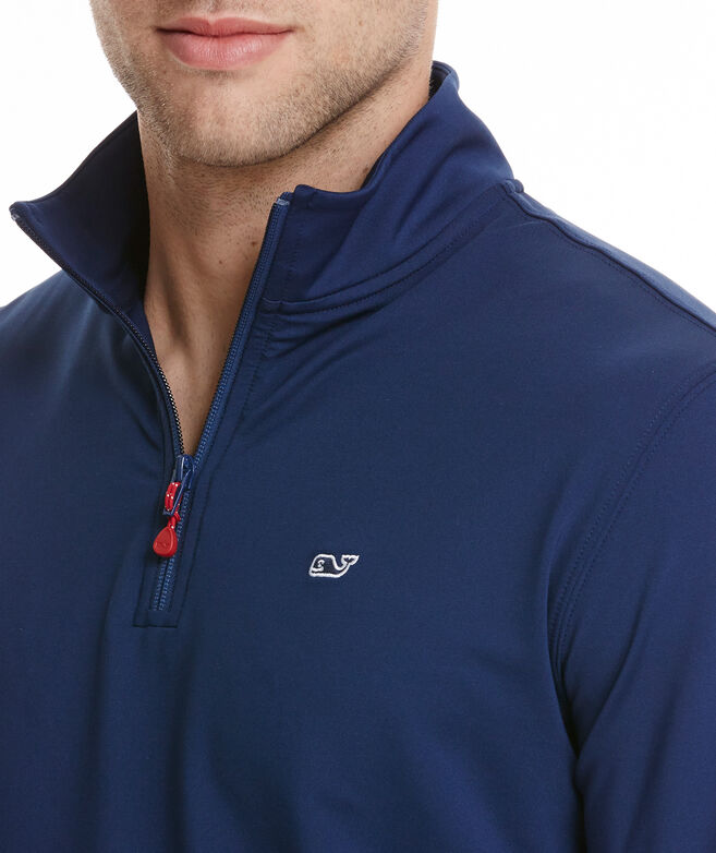 Shop Performance Jersey 1 4-Zip at vineyard vines fb30f7ebc2af