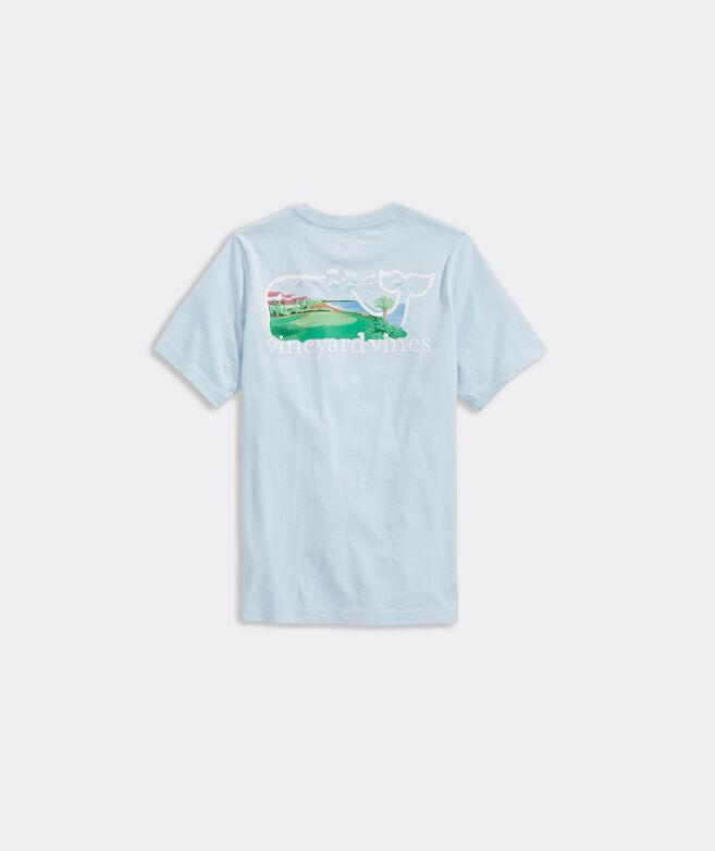 Boys' Resort Golf Whale Short-Sleeve Pocket Tee