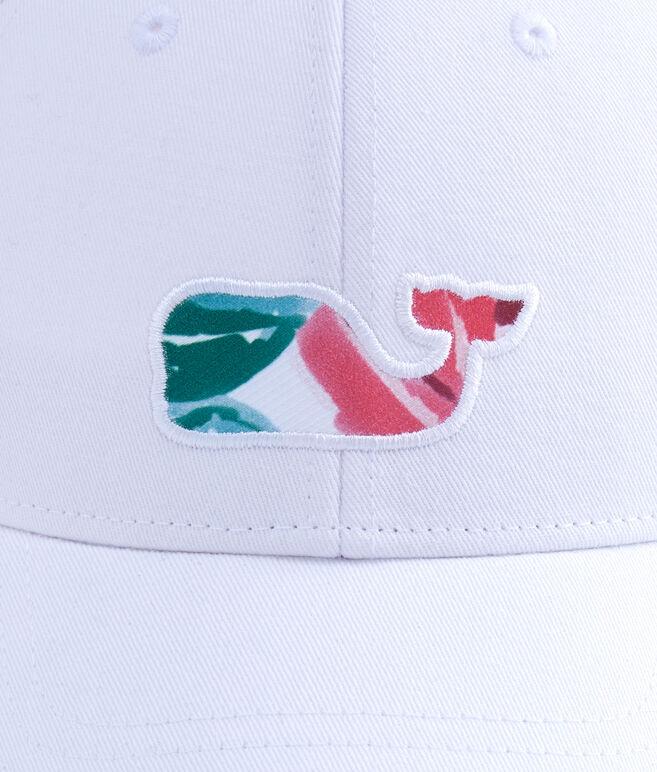 Kentucky Derby Roses Whale Fill Baseball Hat