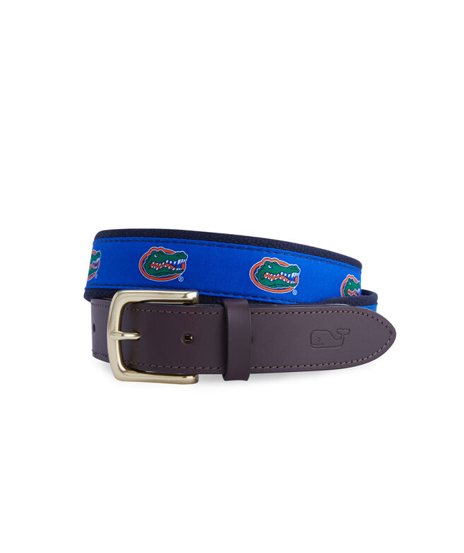 University of Florida Canvas Club Belt
