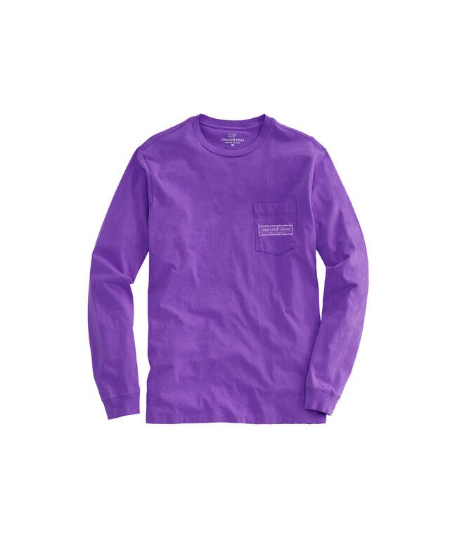 X's & O's Play Box Long-Sleeve Pocket T-Shirt